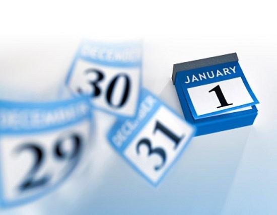 Визначено вихідні дні на Новорічні свята 2014