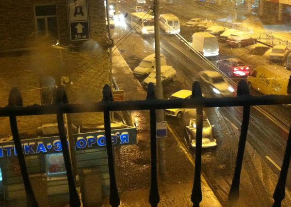 У Рівному випав перший сніг